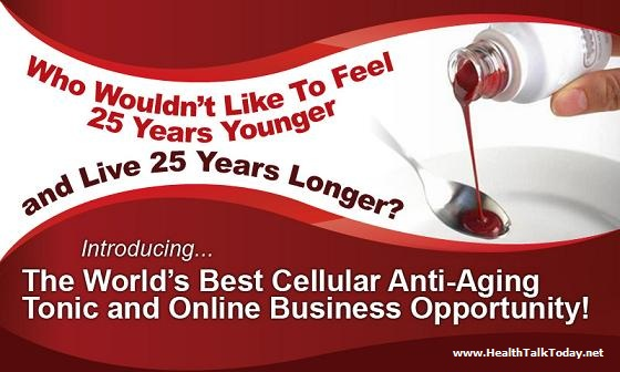 The World's Best Cellular Anti-Aging Tonic