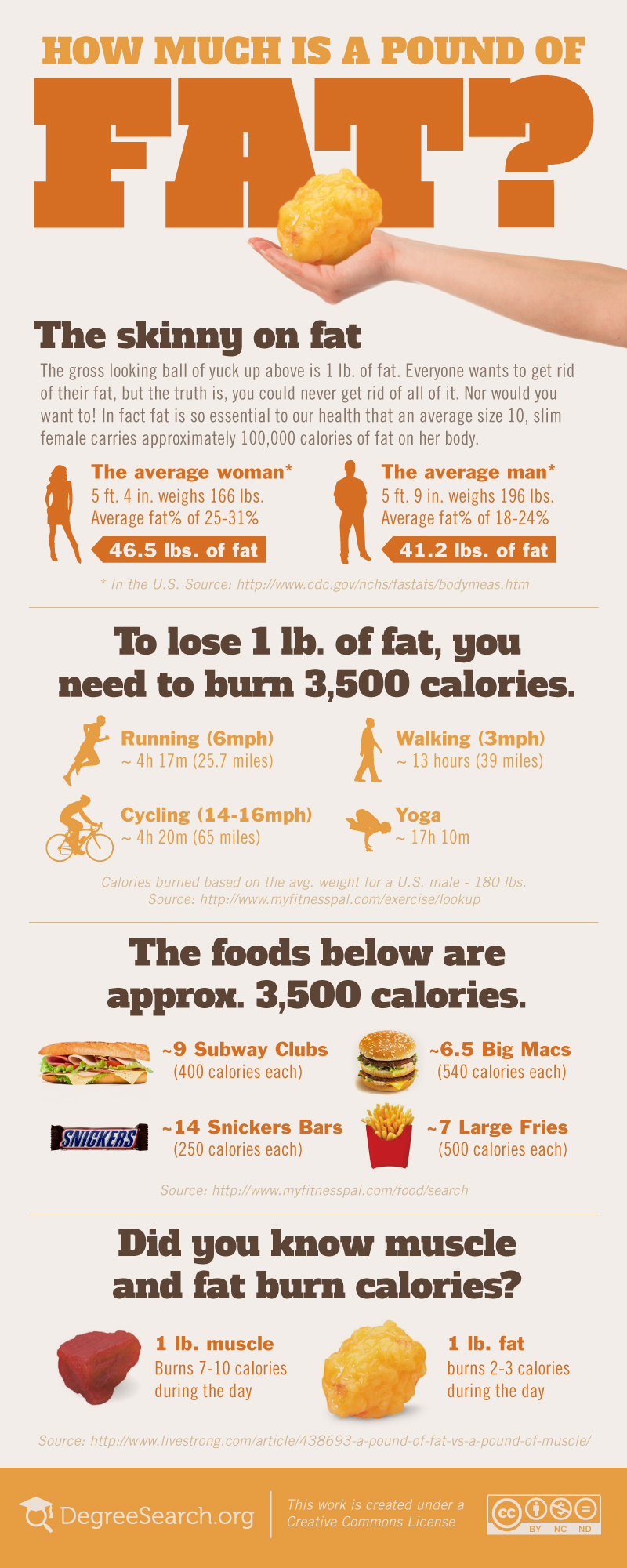 How Much is a Pound of Fat?